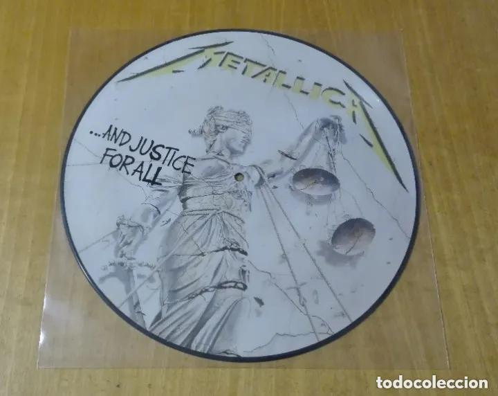 METALLICA - ...AND JUSTICE FOR ALL (LP PICTURE, MUSIC FOR NATIONS, ENGLAND) NUEVO (Música - Discos - LP Vinilo - Heavy - Metal)