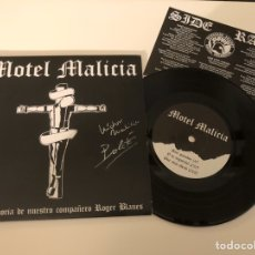 "Discos de vinilo: MOTEL MALICIA - NACÍ GANADOR 7"" (2016) / ED. LTD. 250 UD. / FIRMADO/ OI! / SPANISH PUNK / DECIBELIOS. Lote 185397931"