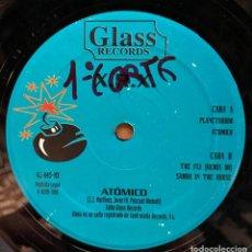 Discos de vinilo: X.R.X. - ATÓMICO (12') (GLASS RECORDS). Lote 185496590