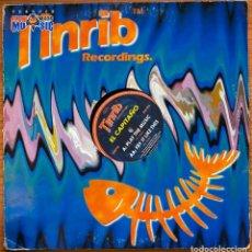 Discos de vinilo: EL CAPITAÑO - PLAY THE MUSIC / FRY IT LIKE THIS (12') (TINRIB RECORDINGS). Lote 185517701