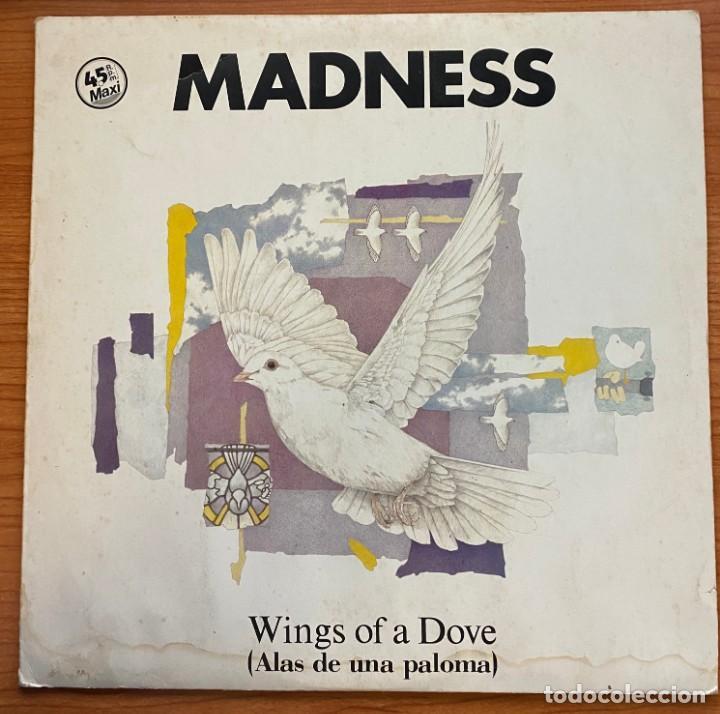 MADNESS // WINGS OF A DOVE (Música - Discos de Vinilo - Maxi Singles - Pop - Rock - New Wave Extranjero de los 80)