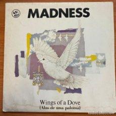 Discos de vinilo: MADNESS // WINGS OF A DOVE. Lote 185528123