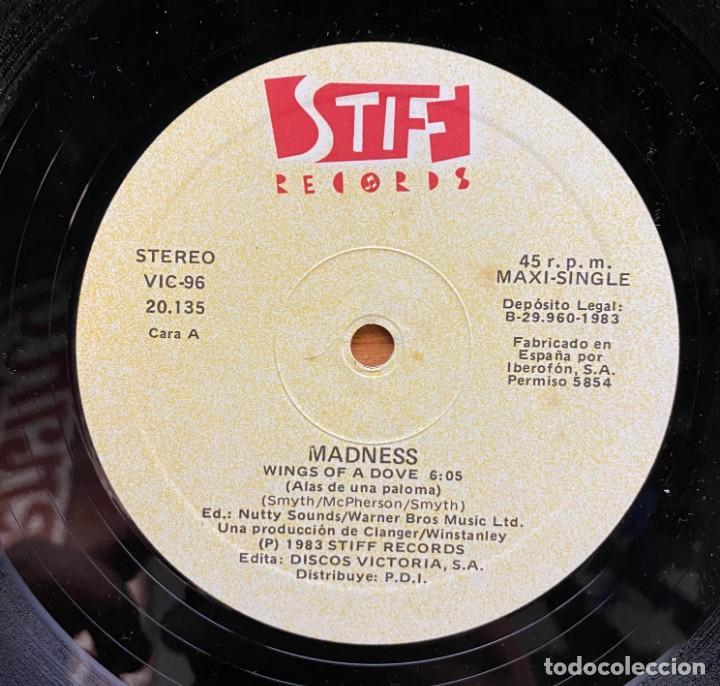 Discos de vinilo: Madness // Wings Of A Dove - Foto 3 - 185528123