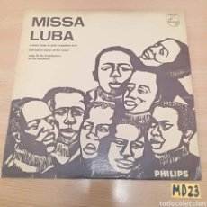 Discos de vinilo: MISSA LUBA. Lote 185538903