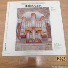 Discos de vinilo: JERUSALEM. Lote 185540122