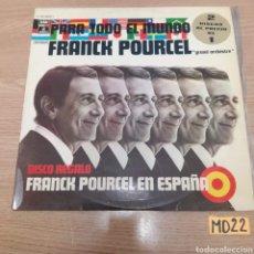 Discos de vinilo: FRANK POURCEL. Lote 185551242