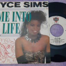 Discos de vinilo: JOICE SIMS. COME INTO MY LIFE. 1987. LONDON. ESPAÑA. Lote 185653313