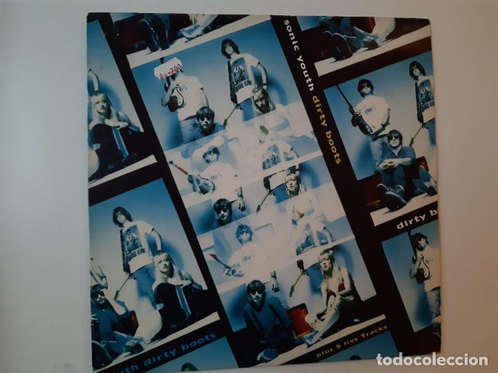 SONIC YOUTH DIRTY BOOTS- UK E.P. 1991 - VINILO EXC. ESTADO. (Música - Discos de Vinilo - EPs - Pop - Rock Internacional de los 90 a la actualidad)