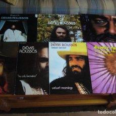 Discos de vinilo: LOTE DISCOS VINILOS DE DEMIS ROUSSOS. Lote 185683375