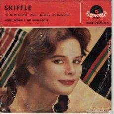 Disques de vinyle: HORST WENDE Y SUS SKIFFLE BOYS - SKIFFLE (VER FOTO ADJUNTA) (EP ESPAÑOL, POLYDOR 1958). Lote 185690027