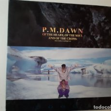 Discos de vinilo: P.M. DAWN OF THE HEART, OF THE SOUL AND OF THE CROSS-THE UTOPIA - SPAIN LP 1991- COMO NUEVO.. Lote 185690683