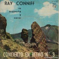 Dischi in vinile: RAY CONNIFF - CONCIERTO EN RITMO Nº 3 (VER FOTO ADJUNTA) (EP ESPAÑOL, PHILIPS 1960). Lote 185692027