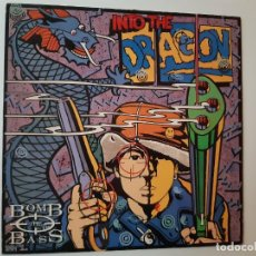 Discos de vinilo: BOMB THE BASS- INTO THE DRAGON - SPAIN LP 1989 +ENCARTE- VINILO EXC. ESTADO.. Lote 185692787
