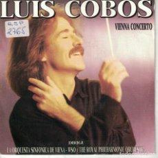Dischi in vinile: LUIS COBOS - VIENNA CONCERTO (VER FOTO ADJUNTA) (SINGLE PROMO ESPAÑOL, CBS 1988). Lote 185695471