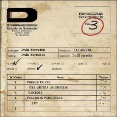 Discos de vinilo: IVAN FERREIRO - PERVERSIONES CATASTROFICAS VOL. II - EP EN 10''. Lote 185697891