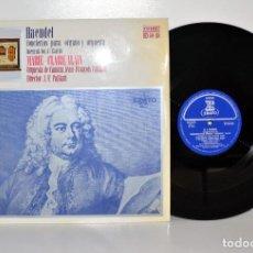 Discos de vinilo: HAENDEL - CONCIERTOS PARA ÓRGANO 13 AL 16 - MARIE-CLAIRE ALAIN - ERATO ESPAÑA NM. Lote 185698957
