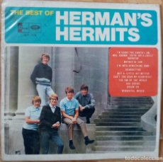 Discos de vinilo: HERMAN'S HERMITS - THE BEST OF HERMAN'S HERMITS - VENEZUELA 1965. Lote 185699417