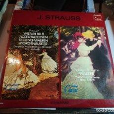 Discos de vinilo: J. STRAUSS. WALZER. Lote 185701135