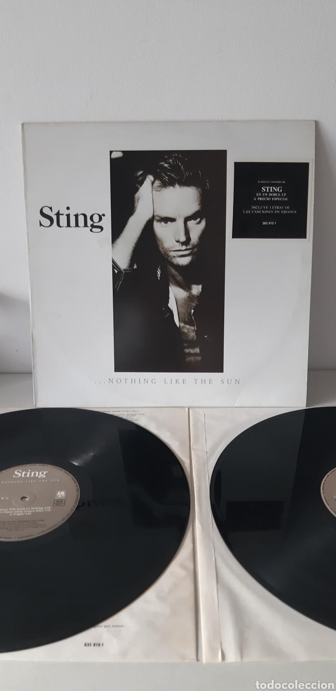 STING. NOTHING LIKE SUN. ESPAÑA. 1987. AM. (Música - Discos - LP Vinilo - Pop - Rock - New Wave Extranjero de los 80)