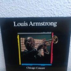 Discos de vinilo: LOUIS ARMSTRONG - CHICAGO CONCERT - LP. Lote 185711393