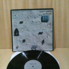 Discos de vinilo: CARLES SANTOS, VOICES TRACKS.. Lote 185717423