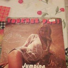 Discos de vinilo: JUMPING BEANS. TOUCHEZ PAS. EDICION IBACH DE 1976 FRANCIA. RARO.. Lote 185727758