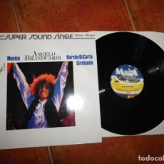 Discos de vinilo: ANGELO BRANDUARDI MUSICA MAXI SINGLE VINILO DEL AÑO 1981 ALEMANIA CONTIENE 3 TEMAS MUY RARO. Lote 185728361
