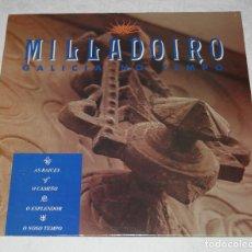 Discos de vinilo: MILLADOIRO.GALICIA NO TEMPO.LP.1991.DISCMEDI.FOLK.TRADICIONAL.GALICIA.CELTA.. Lote 185728567