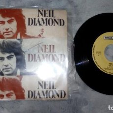 Discos de vinilo: NEIL DIAMOND ‎– WALK ON WATER . Lote 185734760