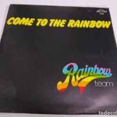 Discos de vinilo: RAINBOW TEAM – COME TO THE RAINBOW--EDICION ITALIA 1979. Lote 185735695
