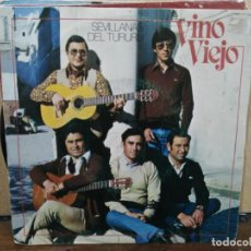 Discos de vinilo: VINO VIEJO - SEVILLANAS DEL TURURU - SINGLE DEL SELLO MOVIE PLAY DE 1981. Lote 185736342