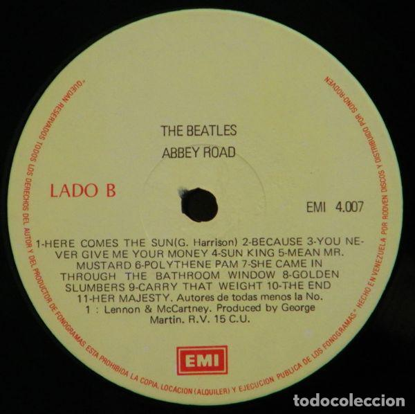 Discos de vinilo: The Beatles – Abbey Road - Foto 2 - 185738800