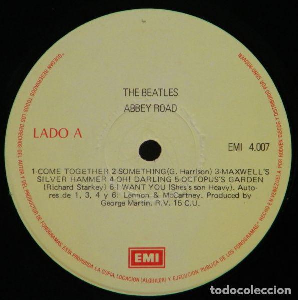 Discos de vinilo: The Beatles – Abbey Road - Foto 3 - 185738800