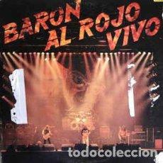 Discos de vinilo: BARÓN ROJO – BARÓN AL ROJO VIVO. Lote 185746547