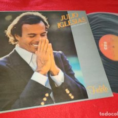 Discos de vinilo: JULIO IGLESIAS CANTA EN FRANCES FIDELE LP 1981 CBS GATEFOLD SPAIN. Lote 222732632