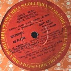 Discos de vinilo: SENCILLO ARGENTINO DE LOS CINCO LATINOS AÑO 1983 COPIA PROMOCIONAL. Lote 40296399