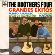 Discos de vinilo: THE BROTHERS FOUR – GRANDES EXITOS - EP SPAIN 1963 - CBS AGS 20.118. Lote 185754061