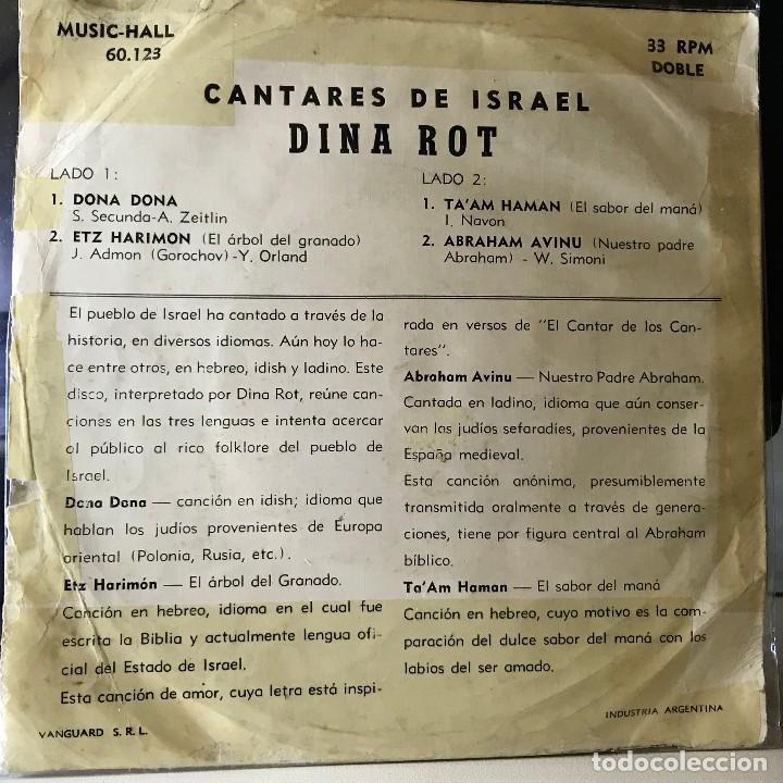 Discos de vinilo: EP argentino de Dina Rot año 1965 - Foto 2 - 26553868