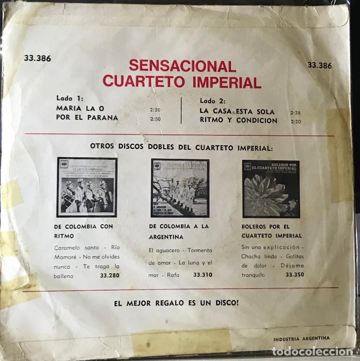 Discos de vinilo: EP argentino del Cuarteto Imperial año 1967 - Foto 2 - 27244473