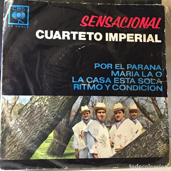 EP ARGENTINO DEL CUARTETO IMPERIAL AÑO 1967 (Música - Discos de Vinilo - EPs - Grupos y Solistas de latinoamérica)
