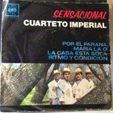 Discos de vinilo: EP ARGENTINO DEL CUARTETO IMPERIAL AÑO 1967. Lote 27244473