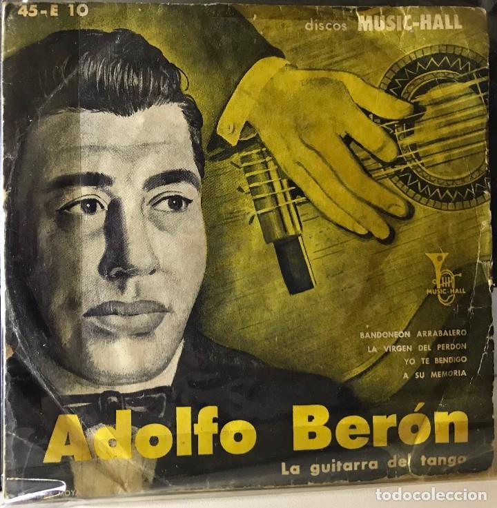 EP DE ARGENTINO DE ADOLFO BERÓN Y SU CONJUNTO AÑO 1958 (Música - Discos de Vinilo - EPs - Grupos y Solistas de latinoamérica)