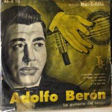 Discos de vinilo: EP DE ARGENTINO DE ADOLFO BERÓN Y SU CONJUNTO AÑO 1958. Lote 27503100