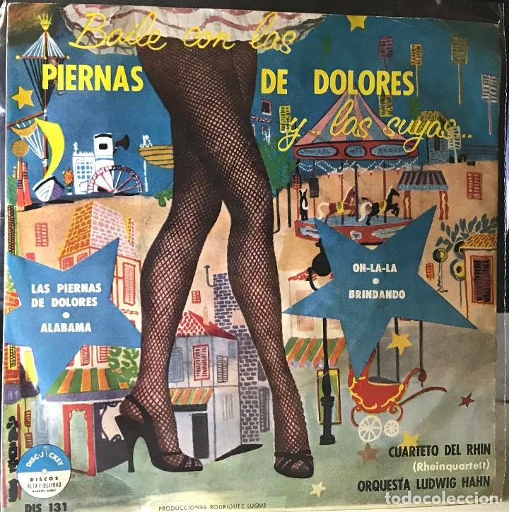 EP ARGENTINO DEL CUARTETO DEL RHIN (RHEIN QUARTETT) AÑO 1958 (Música - Discos de Vinilo - EPs - Otros estilos)