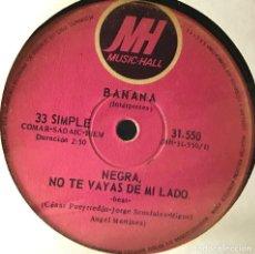 Discos de vinilo: SENCILLO ARGENTINO DE BANANA AÑO 1970. Lote 56469414