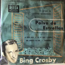 Discos de vinilo: EP ARGENTINO DE BING CROSBY AÑO 1957. Lote 56469471