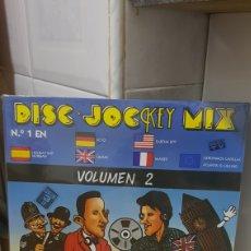 Discos de vinilo: LP DISC-JOCKEY MIX VOLUMEN 2 NUEVO Y PRECINTADO (3 LPS). Lote 185755336