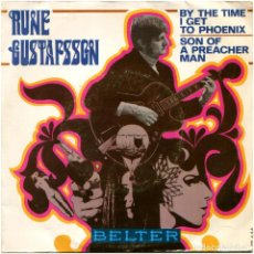 Discos de vinilo: RUNE GUSTAFSSON – BY THE TIME I GET TO PHOENIX - SG PROMO SPAIN 1969 - BELTER 07-646. Lote 185755801