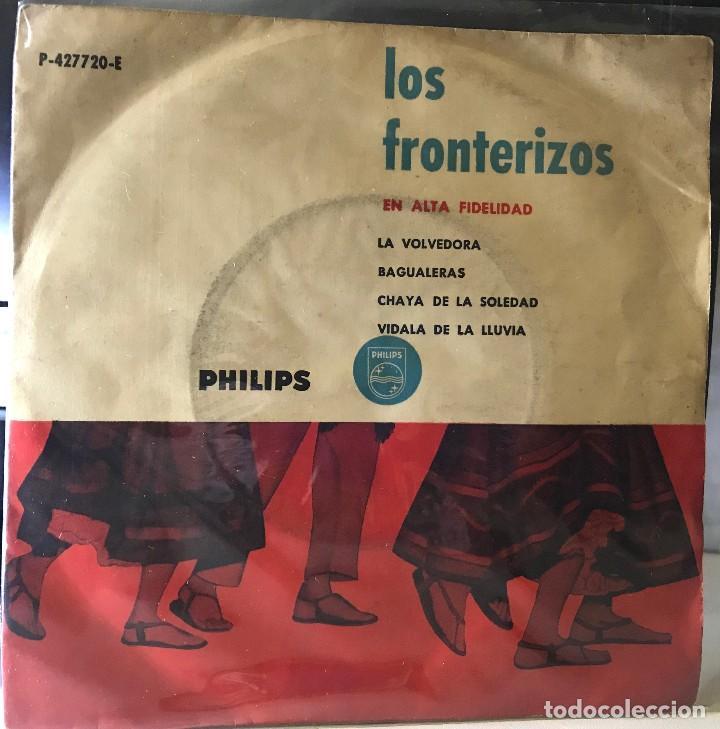 EP ARGENTINO DE LOS FRONTERIZOS AÑO 1959 (Música - Discos de Vinilo - EPs - Grupos y Solistas de latinoamérica)