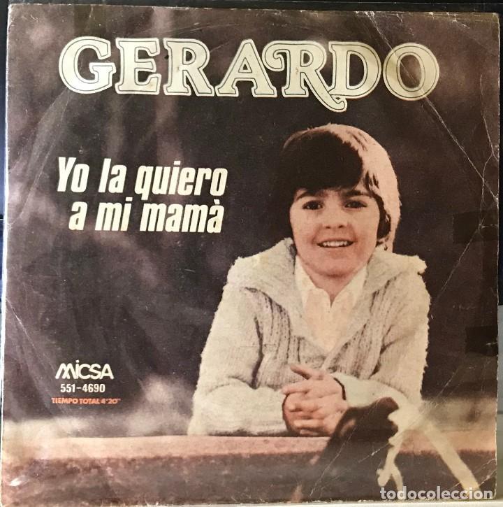 SENCILLO ARGENTINO DE GERARDO AÑO 1980 (Música - Discos - Singles Vinilo - Música Infantil)